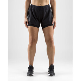Craft Essential Short 2 en 1 Femme, black